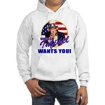 Uncle Infidel Wants You Hooded Sweatshirt