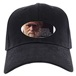 Charles Darwin: God Creation Black Cap