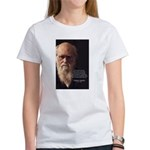 Charles Darwin: God Creation Women's T-Shirt