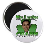 "Obama My Lucky Charm 2.25"" Magnet (10 pack)"