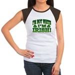 I'm Not White I'm Irish Women's Cap Sleeve T-Shirt