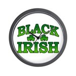 Once You go Irish You Never Go Back Wall Clock