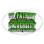 St. Patrick University School of Blarney Sticker (
