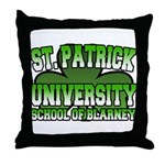 St. Patrick University School of Blarney Throw Pil
