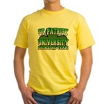 St. Patrick University Drinking Team Yellow T-Shir
