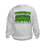 Designated Drinker Kids Sweatshirt