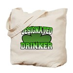 Designated Drinker Tote Bag
