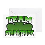 Team St. Patrick Greeting Cards (Pk of 10)