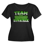 Team St. Patrick Women's Plus Size Scoop Neck Dark