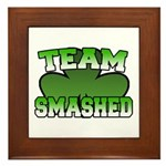 Team Smashed Framed Tile