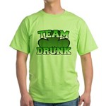 Team Drunk Green T-Shirt