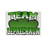 Team Leprechaun Rectangle Magnet