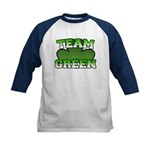 Team Green Kids Baseball Jersey
