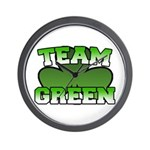 Team Green Wall Clock