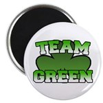"Team Green 2.25"" Magnet (100 pack)"