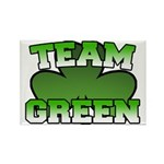 Team Green Rectangle Magnet
