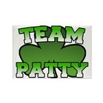 Team Patty Rectangle Magnet (10 pack)