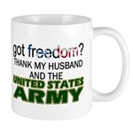 Got Freedom? Army (Husband) Mug