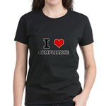 I (heart) Compliance Women's Dark T-Shirt