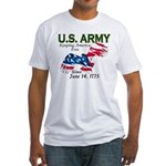 Army Keeping America Free Fitted T-Shirt