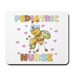 Bee Pediatric Nurse Mousepad