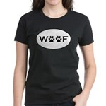 Woof Paws Women's Dark T-Shirt