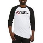 Anti Cindy Sheehan Baseball Jersey