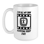 Occupational Therapy Stunts Large Mug