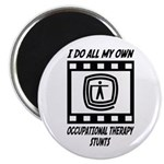 "Occupational Therapy Stunts 2.25"" Magnet (10"