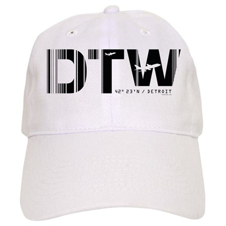 Detroit Airport Code Michigan DTW Cap
