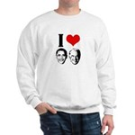 I Heart Obama Biden Sweatshirt