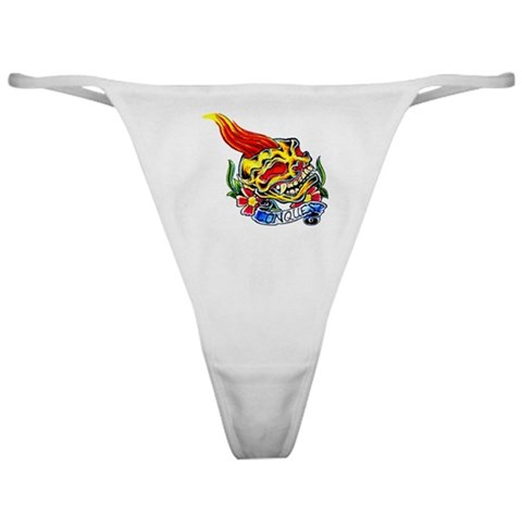 Conquest Biker Motorcycle Tattoo Classic Thong