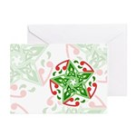 Celtic Christmas Star Greeting Cards (Pk of 10)