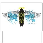 """Surf Angel: Tribe"" Yard Sign"
