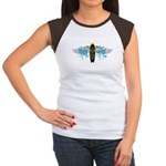 """Surf Angel: Tribe"" Women's Cap Sleeve T-Shirt"