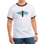 """Surf Angel: Tribe"" Ringer T"