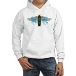 """Surf Angel: Tribe"" Hooded Sweatshirt"