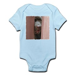 Brown Noser Infant Creeper