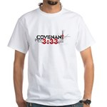 """Covenant: Curse of the Lord"" White T-Shirt"