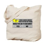 Error Loading America (RKBA) Tote Bag