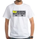 Error Loading America (RKBA) White T-Shirt