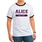 Alice, Quirkier Than You. Ringer T