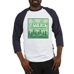 Twilight Forks Baseball Jersey