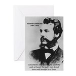 Alexander Graham Bell Greeting Cards (Pk of 10