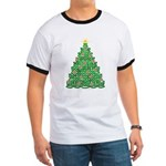 Celtic Christmas Tree Ringer T