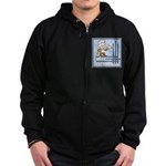 Deco Father of the Groom Zip Hoodie (dark)