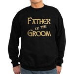 Sherbet Father of the Groom Sweatshirt (dark)
