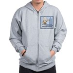 Deco Father of the Groom Zip Hoodie