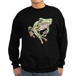 Painted Frog Sweatshirt (dark)