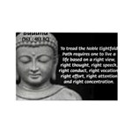 Gautama Siddhartha (Buddha) Rectangle Magnet (10 p